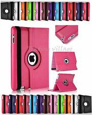 "Leather Case For Apple iPad 1/2/3/4 mini/Air 1/2 Pro 9.7"" Flip Stand Cover 1234"