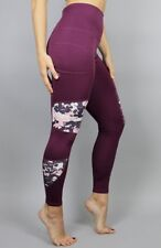 Acai  Activewear  ' Never Grow Up' Legging In Purple(BETTER THAN 50% OFF R.R.P.)
