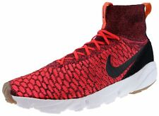 Nike  Training Air Footscape Magista Flyknit Bright Crimson Black Gold Lead