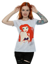 Disney mujer The Little Mermaid Ariel Silhouette Camiseta