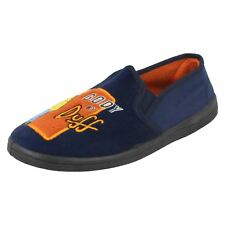 Mens The Simpsons Slippers 'Body By Duff'