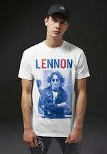 John Lennon Band Camicia Bluered da S-2XL