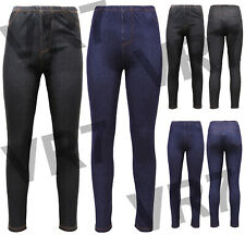 LADIES SKINNY FIT DENIM STRETCHY JEGGINGS JEANS WOMENS SLIM TROUSERS PLUS SIZE