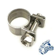 Jubilee Junior Mini TUBO pinzas clips ACERO INOXIDABLE Cincado para Combustible