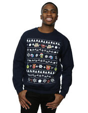 Disney Homme The Muppets Christmas Heads Sweat-Shirt