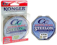 Fishing Line Konger Crystal Clear Fluorocarbon Coated 0,12 -0, 50mm/150m