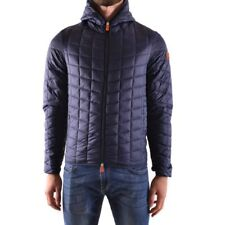 bo31273 SAVE THE DUCK GIUBBOTTO BLU UOMO MEN'S BLUE JACKET