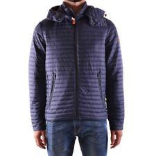 bo31272 SAVE THE DUCK GIUBBOTTO BLU UOMO MEN'S BLUE JACKET