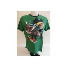 bo1846 FRANKIE MORELLO T-SHIRT VERDE UOMO MEN'S GREEN T-SHIRT