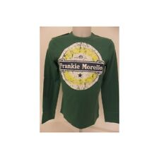 bo1589 FRANKIE MORELLO T-SHIRT MANICA LUNGA VERDE UOMO MEN LONG SLEEVE T-SHIRT