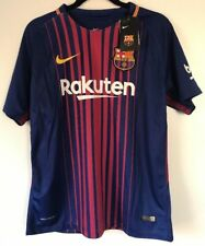 FC Barcelona 2017/2018 - Nike Dri Fit Size S, M and L - Lionel Messi - Authentic