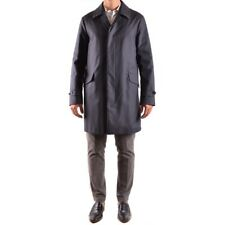 bo31435 ALLEGRI CAPPOTTO BLU UOMO MEN'S BLUE COAT
