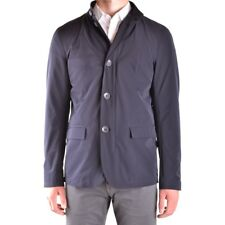 bo31937 HERNO GIUBBOTTO BLU UOMO MEN'S BLUE JACKET