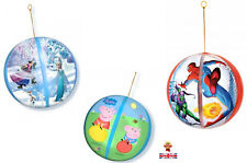 Brand New Ulimate Spiderman, Disney Frozen, Peppa Pig Mega Tap Ball Inflates to