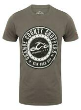 OCC Orange County Choppers T-Shirt Shirt Power Circle Grey/Grau