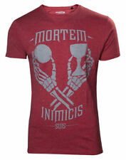 Uncharted T-Shirt Mortem Inimicis Suis Red
