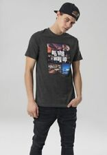 Mister Tee Herren Oberteile All The Way Up Mashup Tee charcoal charcoal