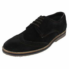 SEBASTIAN WINGTIP HUSH PUPPIES MENS LEATHER SUEDE LACE UP BROGUES CASUAL SHOES