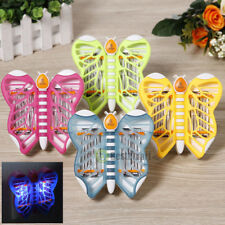 Butterfly Bug Zapper Electronic Insect Mosquito Fly Bug Killer LED Night Lamp US