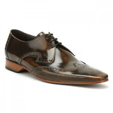 Jeffery West Mens College Camel Brown Escobar Brogue Gibson Shoes UK Sizes[6-11]