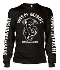 SONS OF ANARCHY SOA SAMCRO NEUF Taille S T-Shirt manches longues biker harley