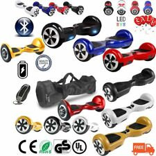 """NUOVO HOVERBOARD LUCI LED SPEAKER E BLUETOOTH SCOOTER OVERBOARD 6,5""""- 8""""-10"""" KYN"""