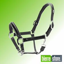 CAVEZZA IN CUOIO SUPERIORE CON PIPING UKE CAPEZZA PER CAVALLO