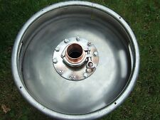 Keg Top Flange. Home Brewing. Distillers Keg Flange. Distilling Equipment