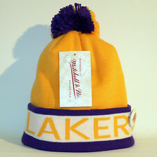 Los Angeles Lakers Beanie / Wollmütze - Mitchell & Ness - Basketball - NBA - Neu