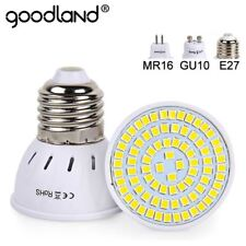 E27 LUCE A LED 220V 240V MR16 GU10 lampadina FARETTO LAMPADA 48/60/80Led