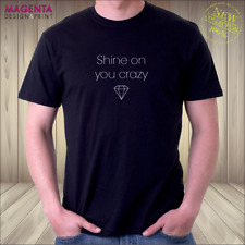 Pink Floyd•Shine on you crazy diamond T-Shirt•Wish You Were Here•GR8 gift idea