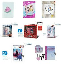 Kids Princess Secret Diary Frozen Secret Book W/D Pen Lockable Blank Girls Gift