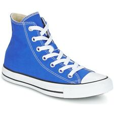 Scarpe uomo Converse  Chuck Taylor All Star Hi Seasonal Colors  Blu Tessuto ...