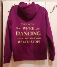 LADIES Dancing Hoodie Hello dolly inspired Musical Ballet Gift Jacket Dancer UK