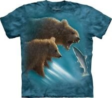 The Mountain Unisexe Adulte Fishing Lesson Animaux T Shirt