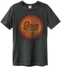 Amplified DAVID BOWIE DIAMANTES Dogs Camiseta Carbón Camisa Para Hombres Talla