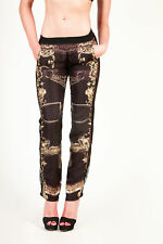 bd83616 PHILIPP PLEIN PANTALONI NERO DONNA WOMEN'S BLACK TROUSERS