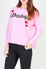 bd83891 PINKO MAGLIA ROSA DONNA WOMEN'S PINK SWEATER