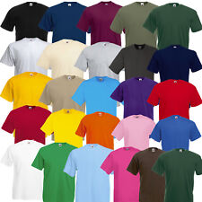 CAMISETA fruit of the Loom Value Weight en 25 COLORES