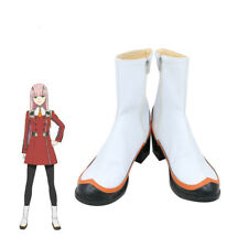 DARLING in the FRANXX Cosplay Shoes 02 Cosplay Boots Zero Two Women Cos Shoes