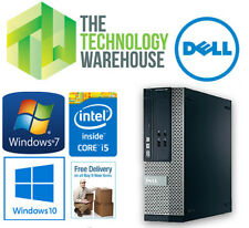 DELL OPTIPLEX 390 SFF PC - i3 3.3GHZ, 4GB RAM, 320GB HDD, WINDOWS 7 OR 10 PRO