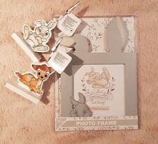 Official Disney Bambi Photo Frame and Clip Photo Holder Thumper PRIMARK BNWT