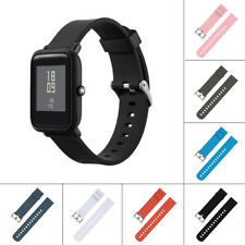 NEW Silicone Sports Strap Band For Xiaomi HUAMI AMAZFIT Bip Youth Watch