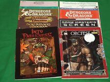 Dungeons and Dragons, D&D, D20 Modules