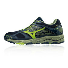 Mizuno Mens Wave Mujin 4 GORE-TEX Trail Running Shoes Trainers Sneakers Blue