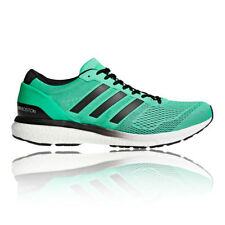 adidas Mens Adizero Boston 6 Running Shoes Trainers Sneakers Green Sports