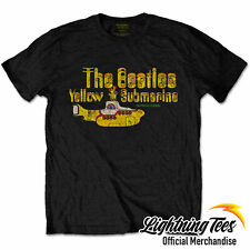 Official The Beatles Yellow Submarine Nothing Is Real T-Shirt