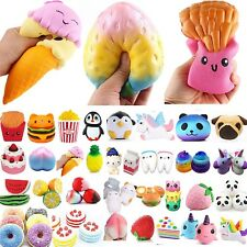 New  Jumbo Slow Rising Squishes Scented Squishy Squeeze Toy Stress Reliever Gift