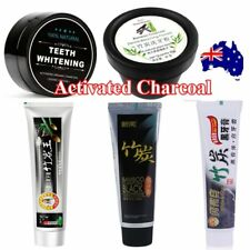Activated Charcoal Toothpaste Teeth Whitening 100% Organic Coconut ShellPowdLO