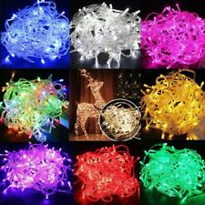 Hot 20-100 LED String Fairy Lights Battery Operated Xmas Party Room Decor LO